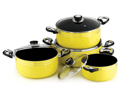 Clasic Yellow NON STCK COOKWARE
